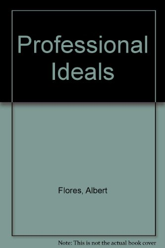 Professional Ideals