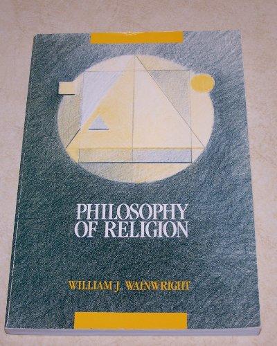9780534088682: Philosophy of Religion