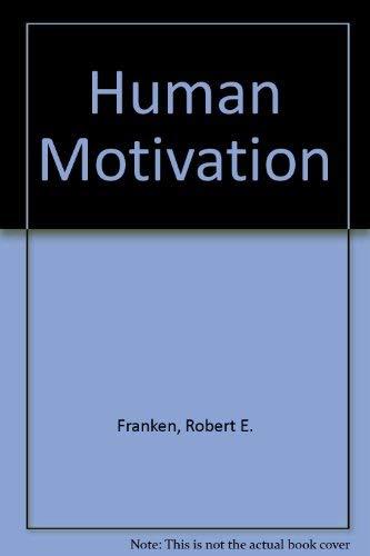 9780534089887: Human Motivation