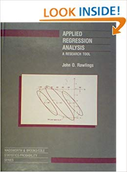 9780534092467: Applied Regression Analysis: A Research Tool (WADSWORTH AND BROOKS/COLE STATISTICS/PROBABILITY SERIES)