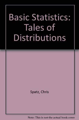 9780534094867: Basic statistics: Tales of distributions