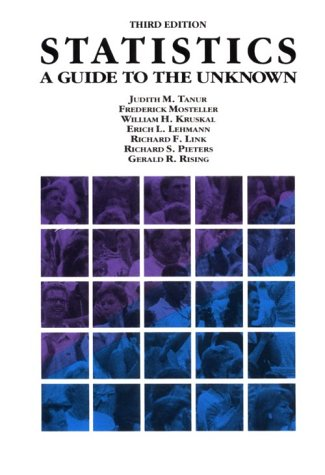 9780534094928: Statistics: A Guide to the Unknown (Wadsworth & Brooks/Cole Statistics/Probability Series)