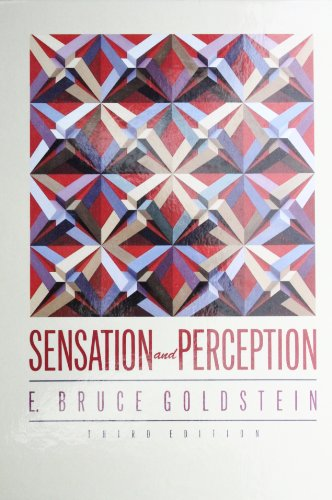 9780534096724: Sensation and Perception