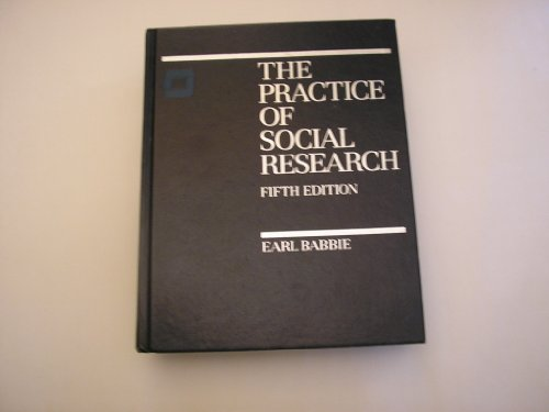 9780534097264: The practice of social research