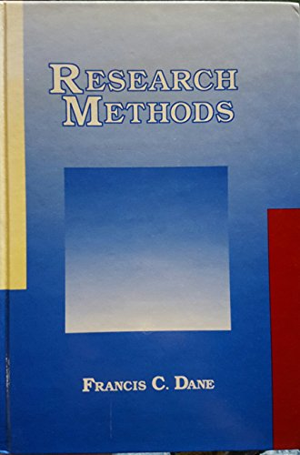 9780534098643: Research Methods