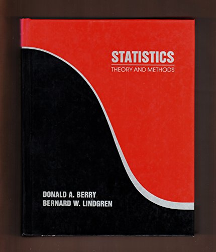9780534099428: Statistics: Theory and Methods