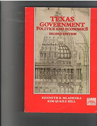 Texas government: Politics and economics: Mladenka, Kenneth R