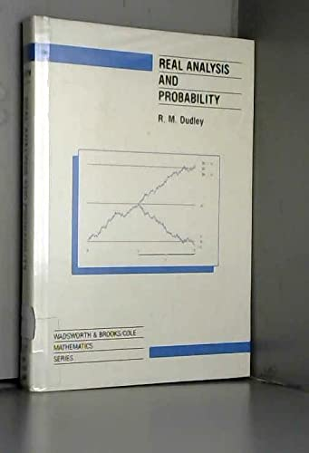 9780534100506: Real Analysis and Probability (Wadsworth & Brooks / Cole Mathematics Series)