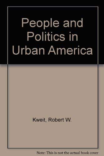 9780534103385: People and Politics in Urban America
