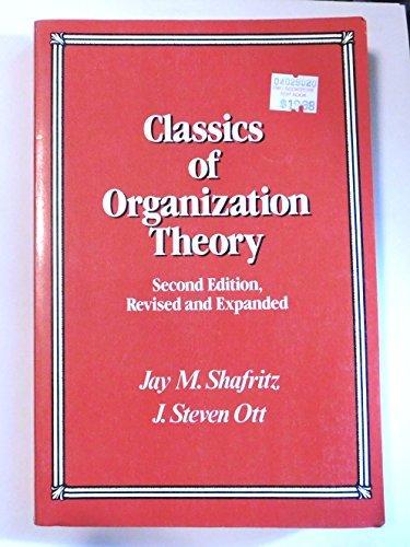 9780534108342: Classics on Organization Theory