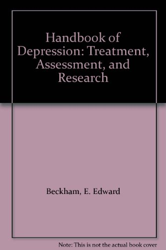 9780534112875: Handbook of Depression: Treatment, Assessment, and Research