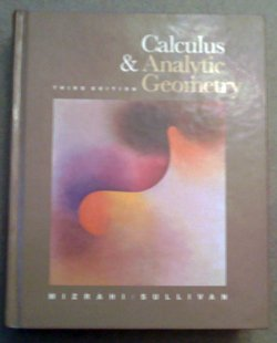 9780534116460: Calculus and Analytic Geometry