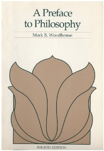 9780534120122: Preface to Philosophy (Philosophy)