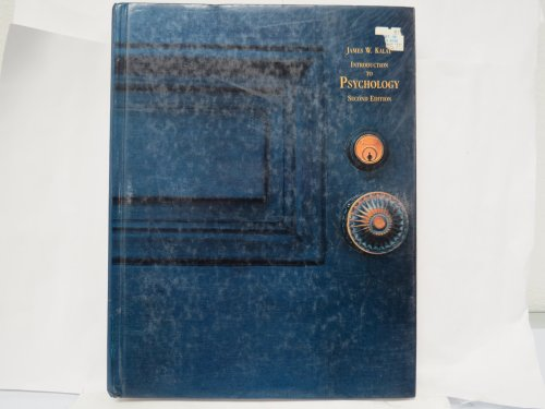 9780534120603: Introduction to Psychology