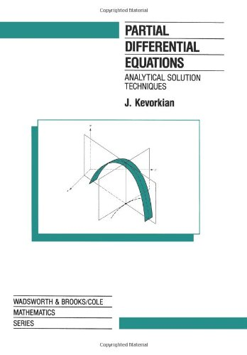 9780534122164: Partial Differential Equations: Analytical Solution Techniques (The Wadsworth & Brooks/Cole Mathematics Series)