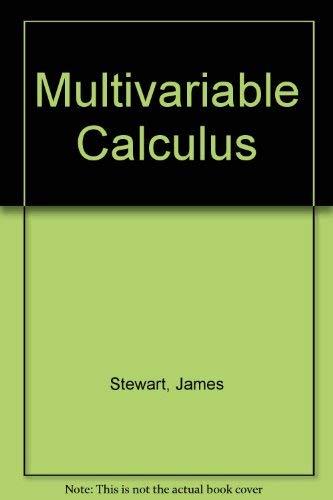 9780534123062: Multivariable Calculus
