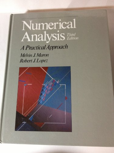 9780534123727: Numerical Analysis: A Practical Approach