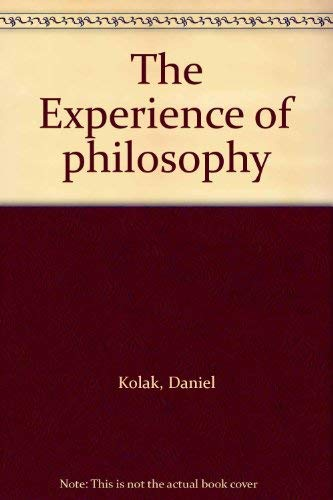9780534124441: The Experience of philosophy
