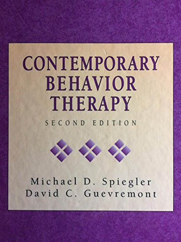 9780534129903: Contemporary Behavior Therapy, 2nd