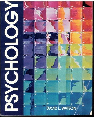 9780534130084: Psychology