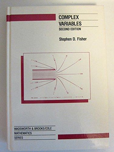 9780534132606: Complex Variables (Wadsworth & Brooks/Cole Mathematics Series)