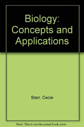 9780534133689: Biology: Concepts and Applications (Biology)