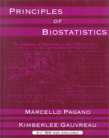 9780534140694: Principles of Biostatistics