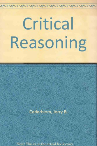 9780534146887: Critical Reasoning