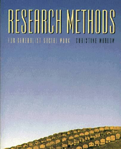9780534148386: Research Methods for the Generalist Social Worker