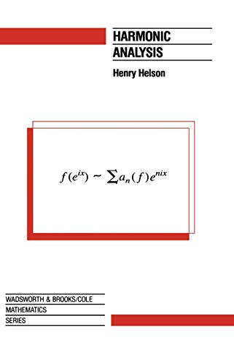 9780534155704: Harmonic Analysis (The Wadsworth & Brooks/Cole Mathematics Series)