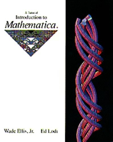 9780534155889: A Tutorial Introduction to Mathematica