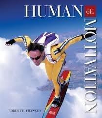 9780534156121: Human Motivation