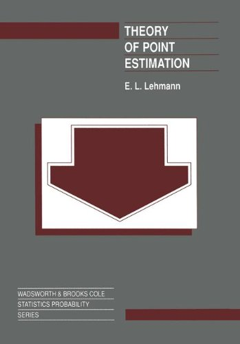 9780534159788: Theory of Point Estimation (Wadsworth & Brooks/Cole Statistics/Probability Series)