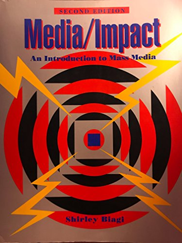 9780534162429: Media/Impact: An Introduction to Mass Media