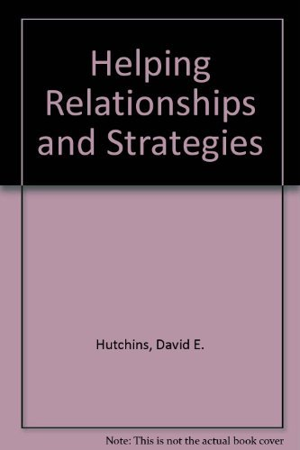 9780534164041: Helping Relationships and Strategies