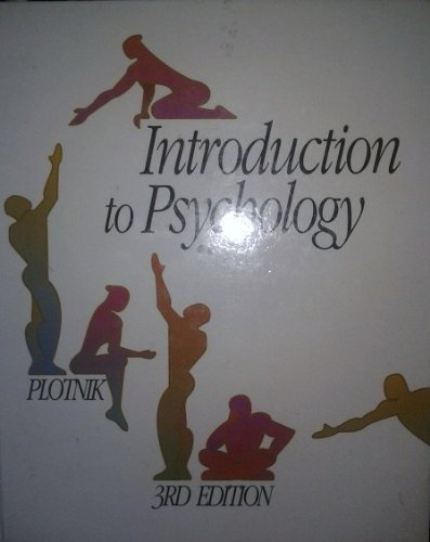 9780534164461: Introduction to Psychology