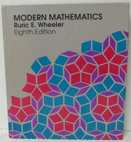 9780534166021: Modern Mathematics