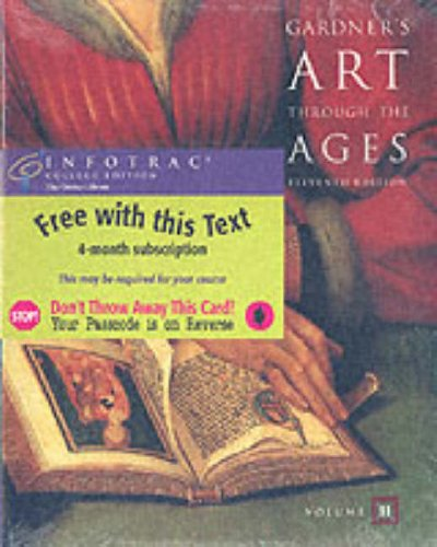 9780534167066: Gardner's Art Through the Ages, Volume II (with InfoTrac)