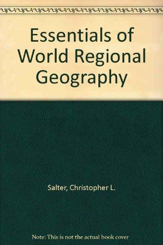 9780534168094: Essentials of World Regional Geography