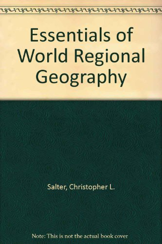 9780534168094: Essentials of World Regional Geography (Non-InfoTrac with CD-ROM)