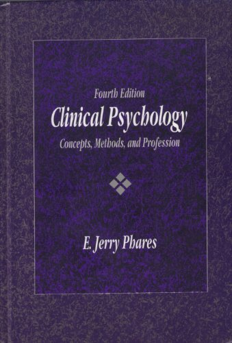 9780534168308: Clinical Psychology: Concepts, Methods, and Profession