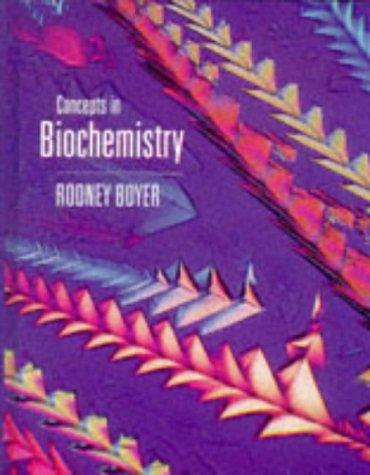 9780534172084: Concepts in Biochemistry (High School/Retail Version)