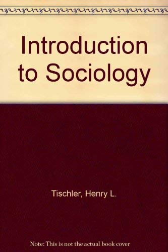 9780534172299: Introduction to Sociology (Non-InfoTrac Version)