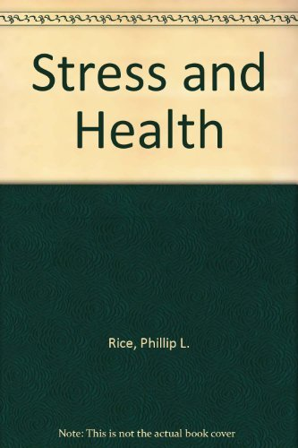 9780534172800: Stress and Health