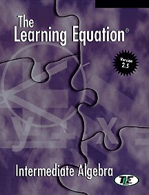9780534173012: The Learning Equation Intermediate Algebra Student Workbook with Student User's Guide (Available Titles CengageNOW)