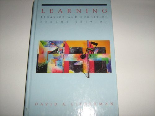 9780534174002: Learning: Behavior and Cognition