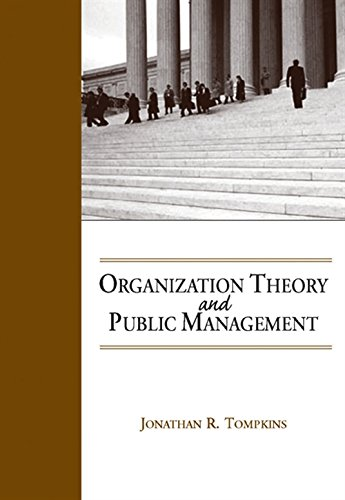 9780534174682: Organization Theory and Public Management