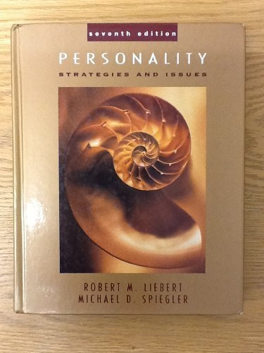 9780534175801: Personality: Strategies & Issues: Strategies and Issues