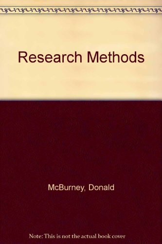 9780534176464: Research Methods
