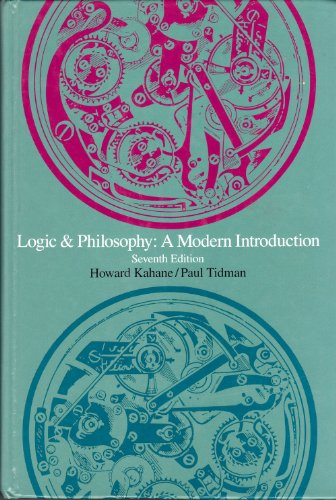 9780534177607: Logic and Philosophy: A Modern Introduction